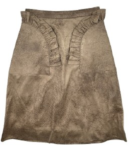SUEDE SKIRT CML 12