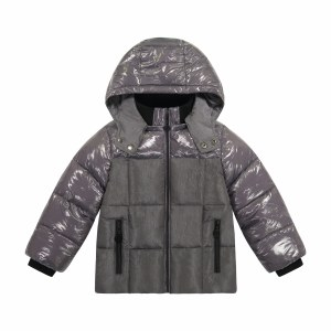TWO TONE FRONT JACKET STEEL 8