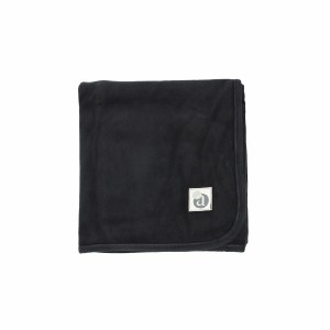 VELOUR BLANKET  BLK