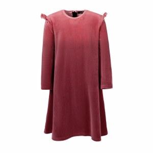 VELOUR DRESS PNK 5