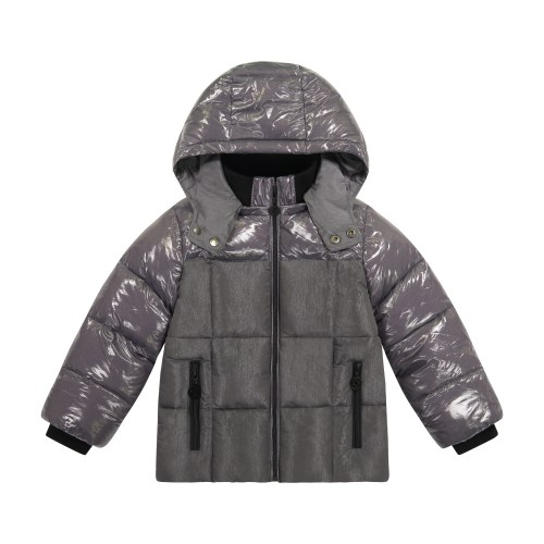 TWO TONE FRONT JACKET STEEL