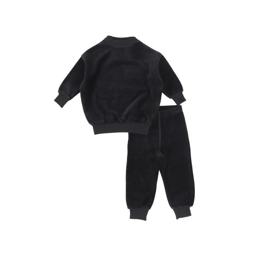 VELOUR SET BLK 6M