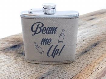 "Flask ""beam Me Up"" Khaki"