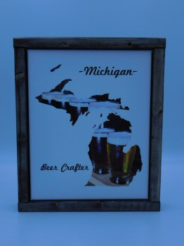 Michigan Beer Crafter 8x10