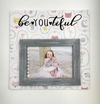 12 x 12 Baby Girl Frame