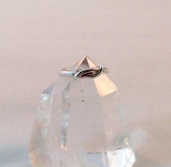 Viking Wrap Sterling Silver Ring Sz 8