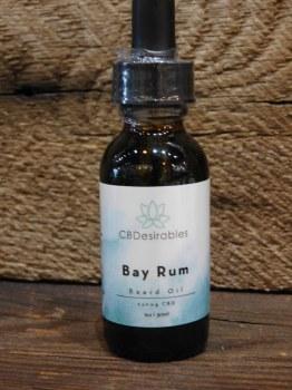 Bay Rum Beard Oil-cbd
