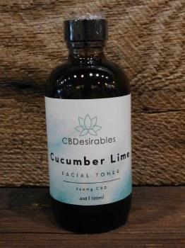 Cucumber Lime Facial Toner-cbd