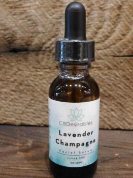 Lav Champagne Facial Serum-cbd