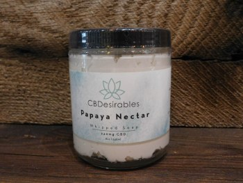 Whipped Soap CBD - Papaya Nectar