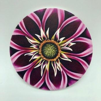 Ceramic Flower Print Coaster