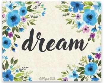 Art Print-dream 8x10