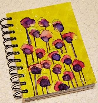 Watercolor Notebook Violas 4x6