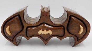 Hardwood Bat Jewelry Box