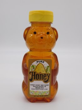 Honey Bear Local 12 oz plastic