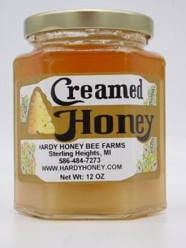 Honey Cream-Plain 12 oz