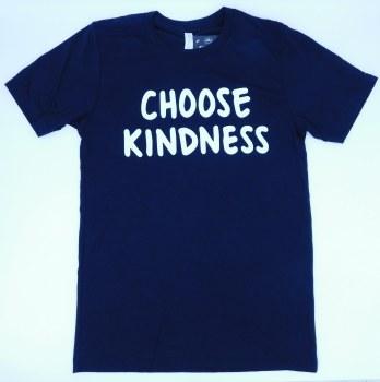 Tee Choose Kindness Blk Sm