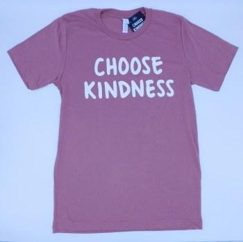 Tee Choose Kindness Mauve Med