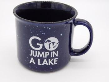 Mug-Go Jump in a Lake
