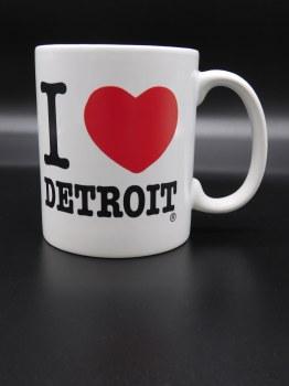 Mug-I Love Detroit