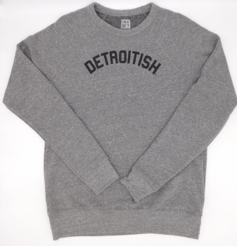 Sweatshirt Detroitish M Gray