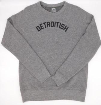 Sweatshirt Detroitish L Gray