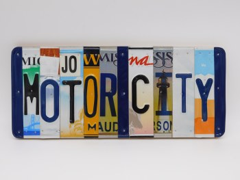 "Word Sign, ""Motor City"""