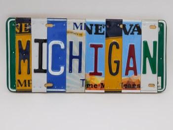 "Word Sign, ""Michigan"""