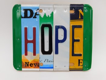 """Word Sign, """"Hope"""""""