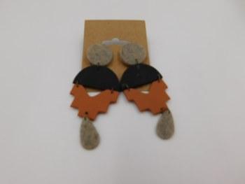 Handmade Lightweight Polymer Clay Earrings