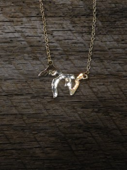 Necklace MI Lakes Gold
