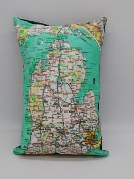 Pillow Michigan Road Map