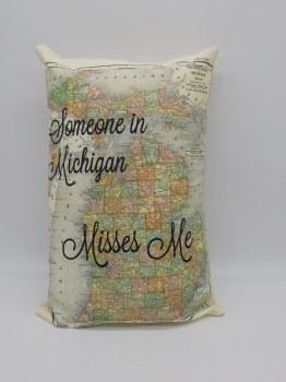 Pillow Someone In Mi Misses Me