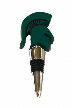 Bottle Stopper-MSU Sparty