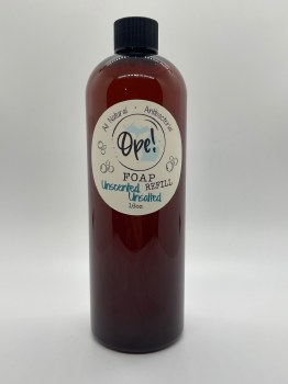 Unscented Unsalted Foaming Soap Refill 16 oz
