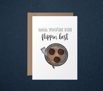 Card Dad Flippin Best