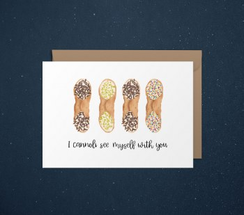 Love Card Canolli