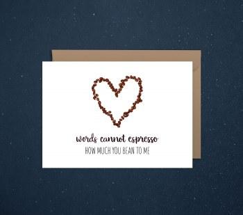 Love Card Expresso