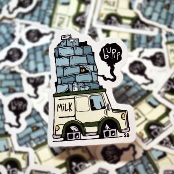 Milk Creep Sticker
