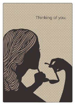 """Thinking of You Card """"Thinking of You"""""""