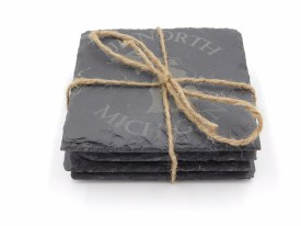 Coaster Set Slate M22 Set of 4