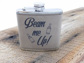 "Flask ""beam Me Up"" Khaki"