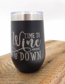 Wine Polar Lg. Time Wine Down