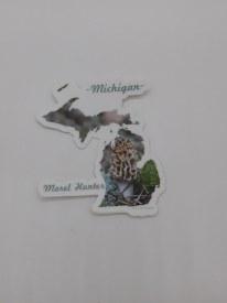 Mi Sticker Morel Hunter
