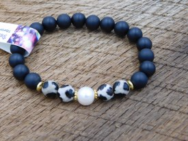Leopard & Black Medium Bracelet