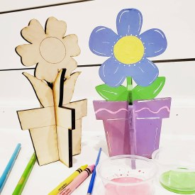 Potted Flower Painting Kit