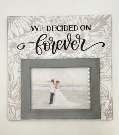 12 x 12 Wedding Frame