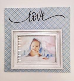 12 x 12 Baby Boy Frame
