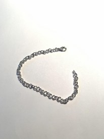 SS Infinity Bracelet