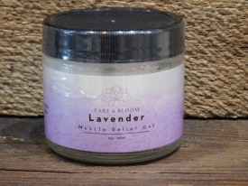 Lavender Muscle Relief Gel